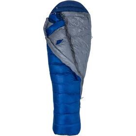 Marmot Sawtooth X Wide Sleeping Bag Long Herr surf/arctic navy